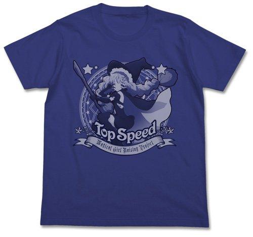 魔法少女育成計画 トップスピードTシャツ ナイトブルー Lサイズの詳細を見る