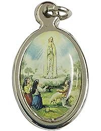 イタリア製カラーメダイ ファチマの聖母