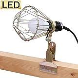 アイリスオーヤマ LED ワークライト広配光 屋内用 クリップ 810lm ILW-85GC3