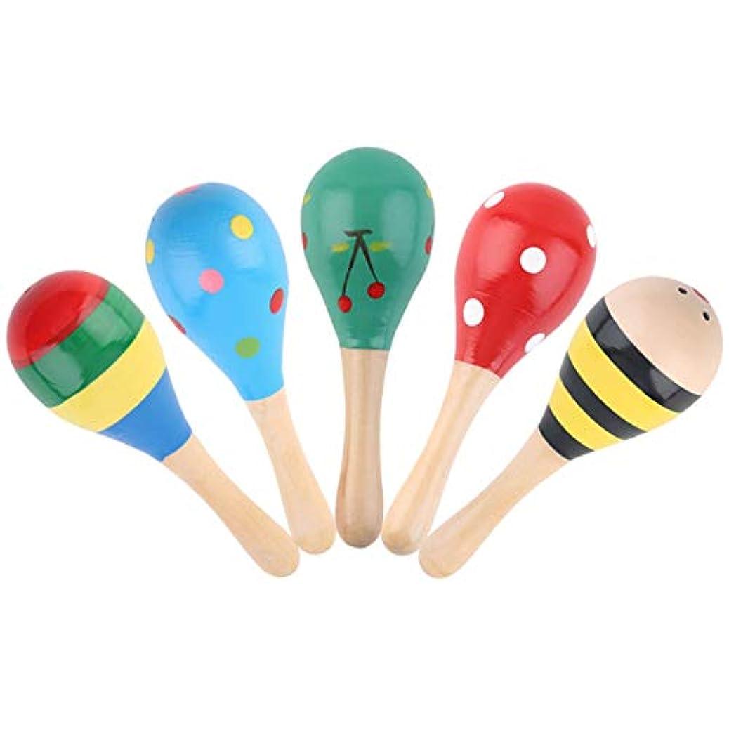 何よりも認識提案するTivollyff クリニークベビーキッズサウンド音楽ギフト幼児ラトルミュージカル木製のカラフルなおもちゃの新しいカラフルな世界的な販売 多色 キッチン