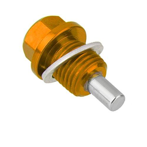 【ノーブランド 品】M14x1.5 磁気 エンジン オイルパ...