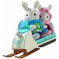 シルバニアファミリー ウサギさんとスキースクーター [並行輸入品]