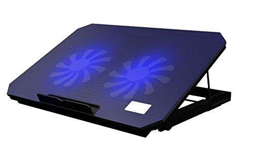 Nitaw ノートパソコン 冷却パッド 冷却台 2ファンクーラー切替スイッチ...