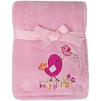 Big Oshi Baby Super Soft Blanket, Pink by Big Oshi