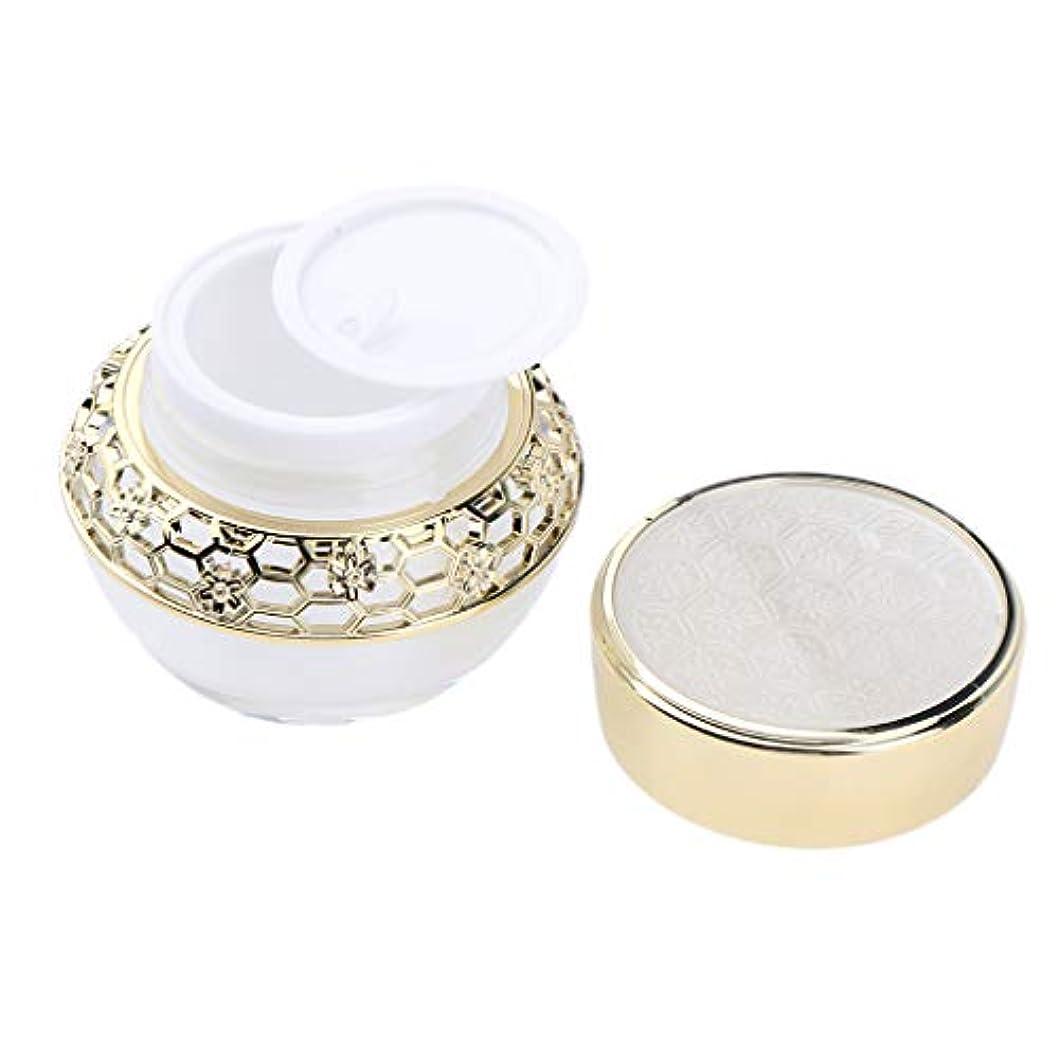 うねるロシア北東クリーム 容器 クリームケース 化粧品 アクリル ローション 詰替え容器 2サイズ選べ - 30g