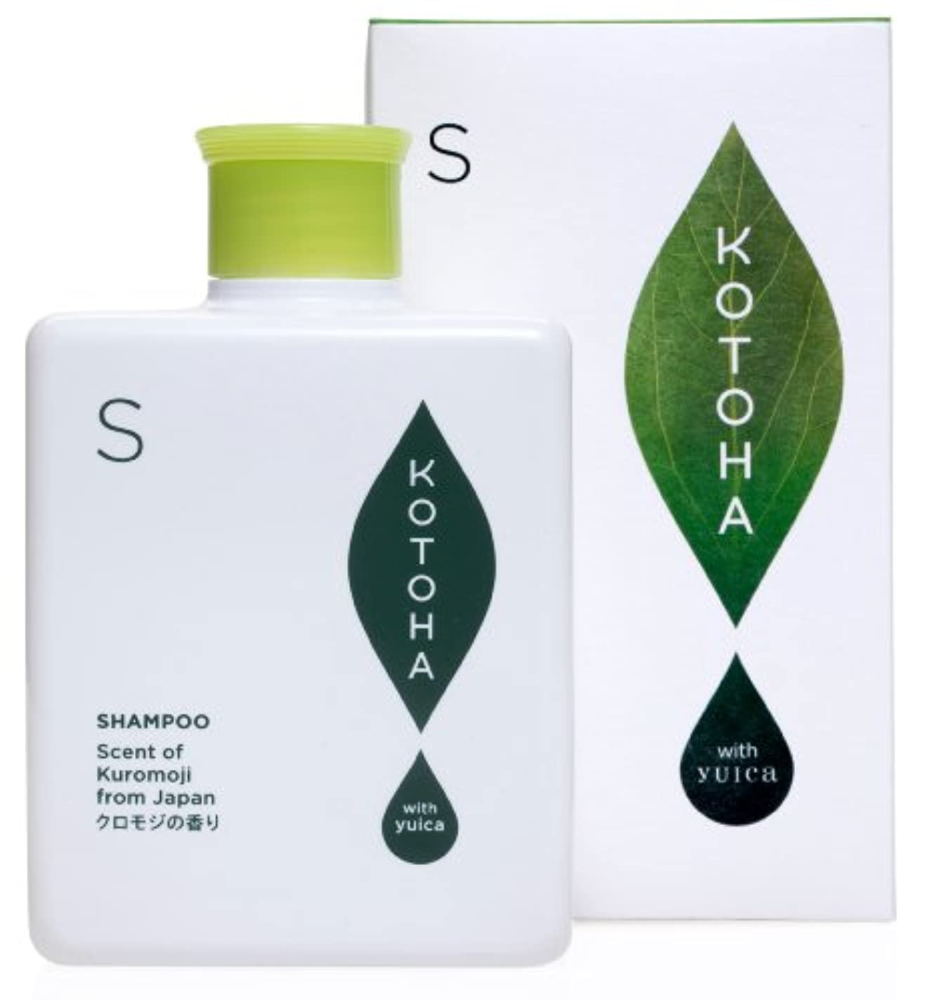 生態学所有者共感するKOTOHA with yuica ヘアシャンプー やすらぎの香り(クロモジベース) 300mL