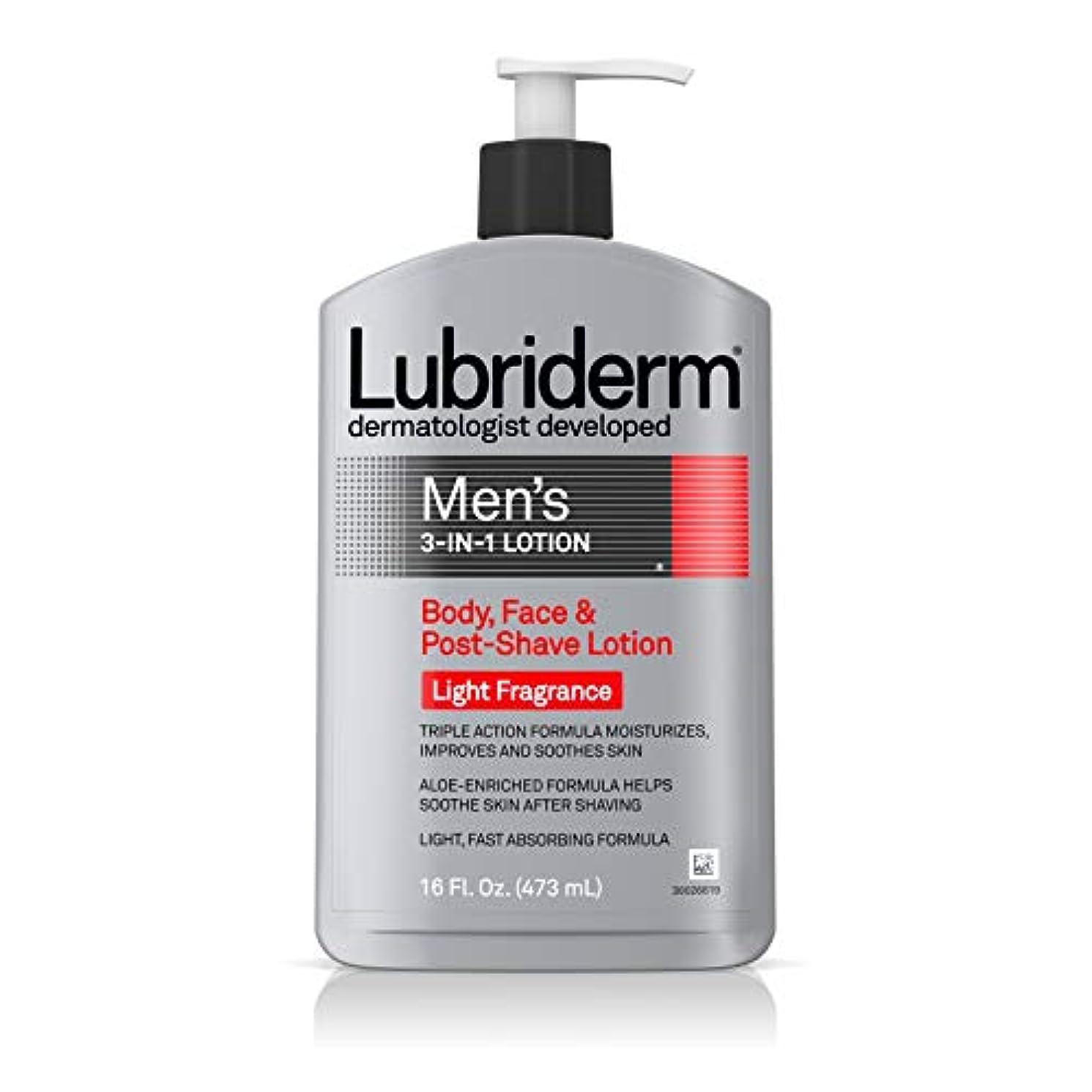 気性休日に好奇心盛Lubriderm メンズ3-IN-1ボディローションライトフレグランスで、16フロリダ。オズ