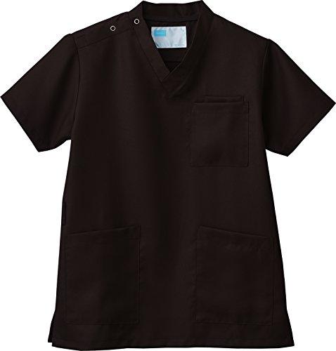 メディカルウェア 男女兼用 スクラブ白衣 WH11485 医療用 (ブラウン) サイズSS