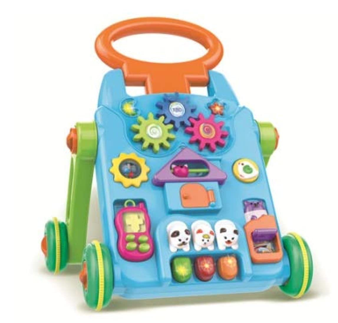 昼寝超えてすきベビーウォーカーカート多機能ロールオーバー児童勉強机カート