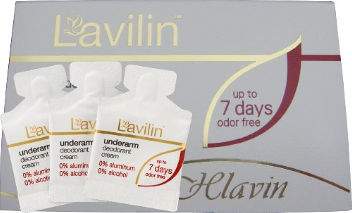 良性顕微鏡ライセンスLavilin(ラヴィリン)デオドラントクリーム ラヴィリン フォーアンダーアーム 1g×3