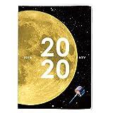 アーティミス 手帳 2020年 B6 ウィークリー ブロック クリアプラネット 月 20WDB6-CP (2019年 12月始まり)