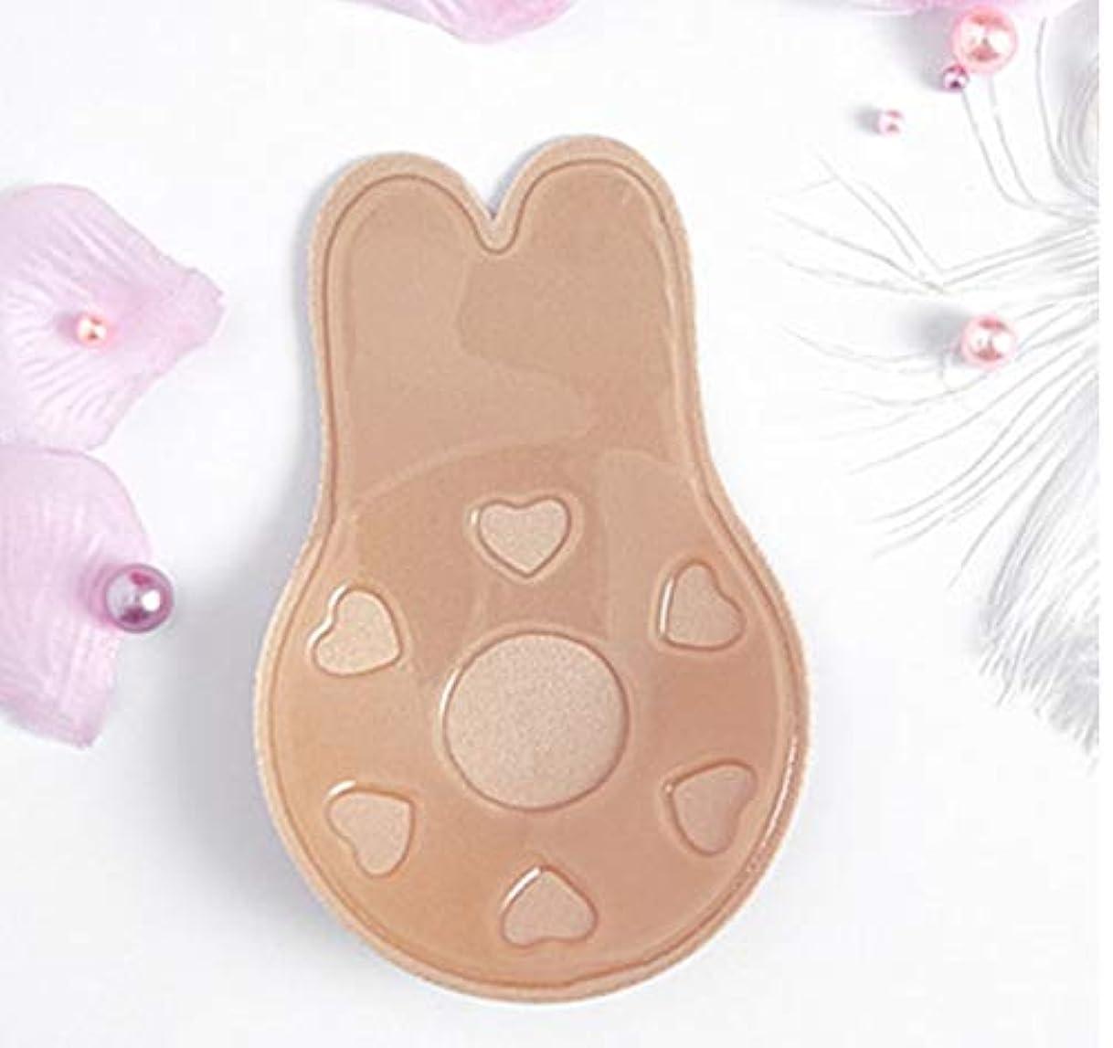 一飼料先行するLixiuqun home 3 PCS胸リフトテープはセクシーな下着アクセサリーを再利用可能な乳房乳首カバー見えない接着剤ブラジャーをプッシュアップ(ABサイズ(直径:9cm)) (色 : AB Size (diameter...