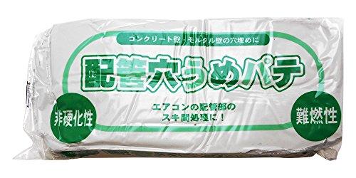 家庭化学 配管穴埋めパテ 1kg