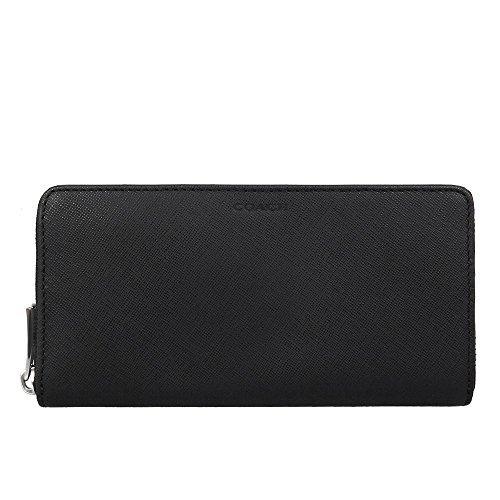 [コーチ] COACH 財布 (長財布) F74769 ブラック BLK レザー 長財布 メンズ レディース [アウトレット品] [並行輸入品]