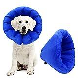 AK KYC エリザベスカラー XXXLサイズ 柔らかい 猫 犬 ペット用エリザベスカラー ドーナツカラー 傷口保護 傷舐め防止 引っかき防止 超軽量 介護 ペット用品