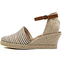 diana ferrari Trey-DF Womens Shoes Espadrilles High Heels