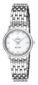 [オメガ]OMEGA 腕時計 デ・ビル ホワイトパール文字盤 413.15.27.60.55.001 レディース 【並行輸入品】