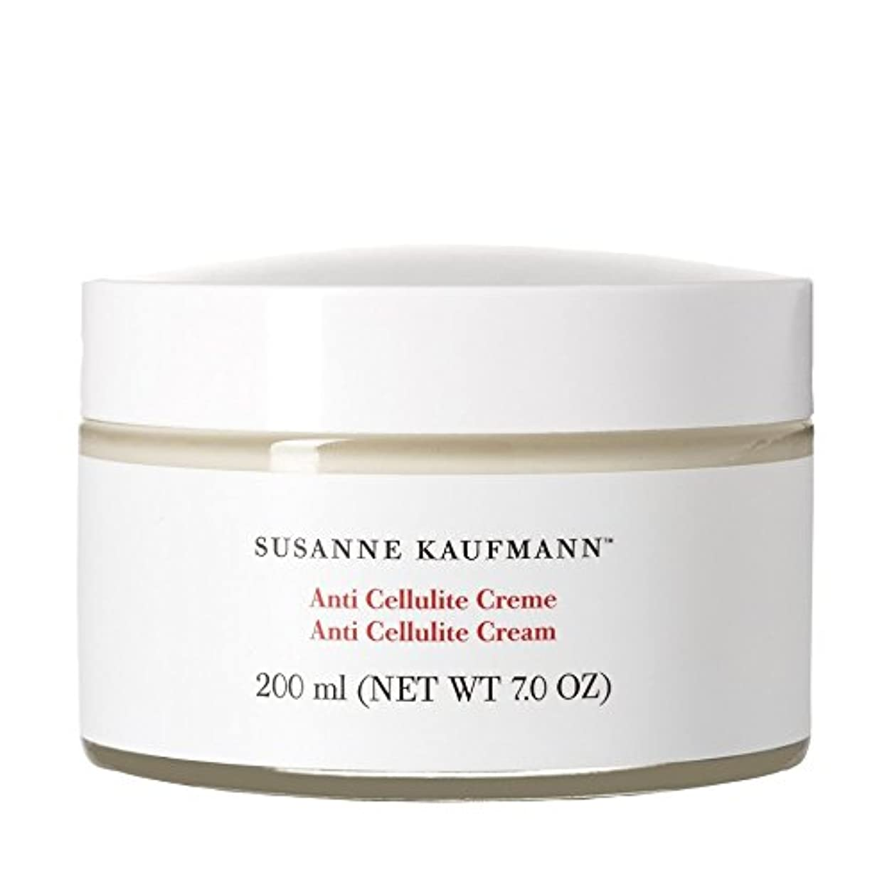 ノイズ持続する役に立つSusanne Kaufmann Anti Cellulite Cream 200ml (Pack of 6) - スザンヌカウフマン抗セルライトクリーム200ミリリットル x6 [並行輸入品]