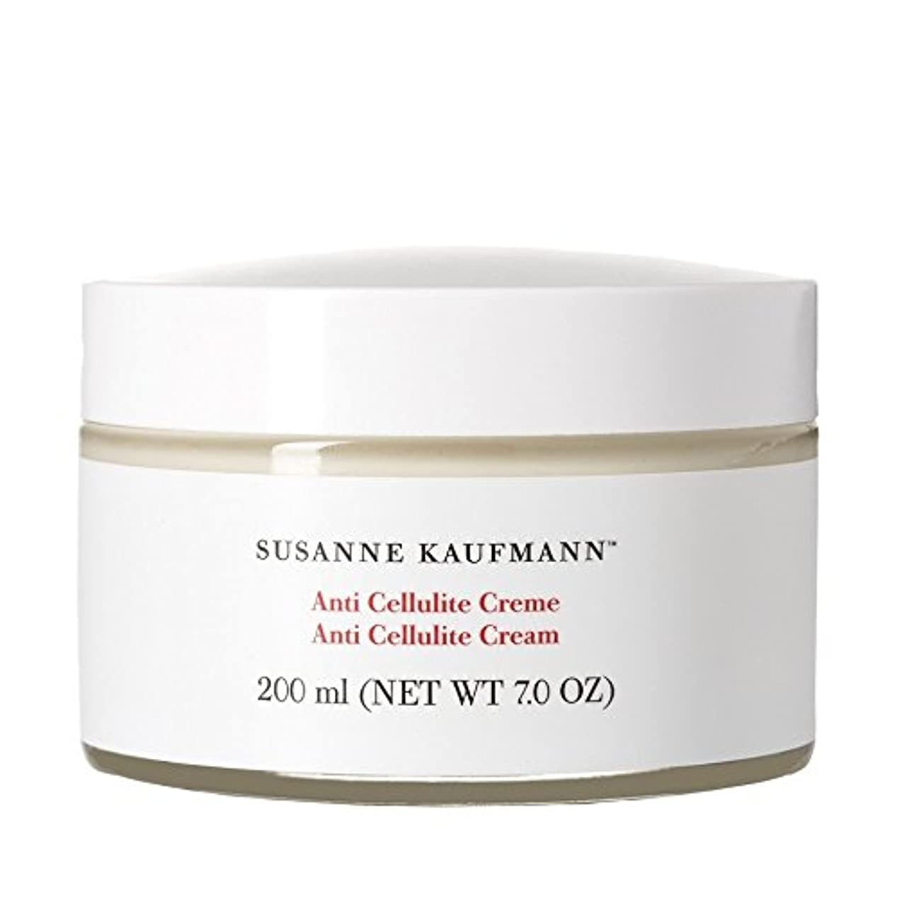 癌ケニアチャーミングスザンヌカウフマン抗セルライトクリーム200ミリリットル x4 - Susanne Kaufmann Anti Cellulite Cream 200ml (Pack of 4) [並行輸入品]