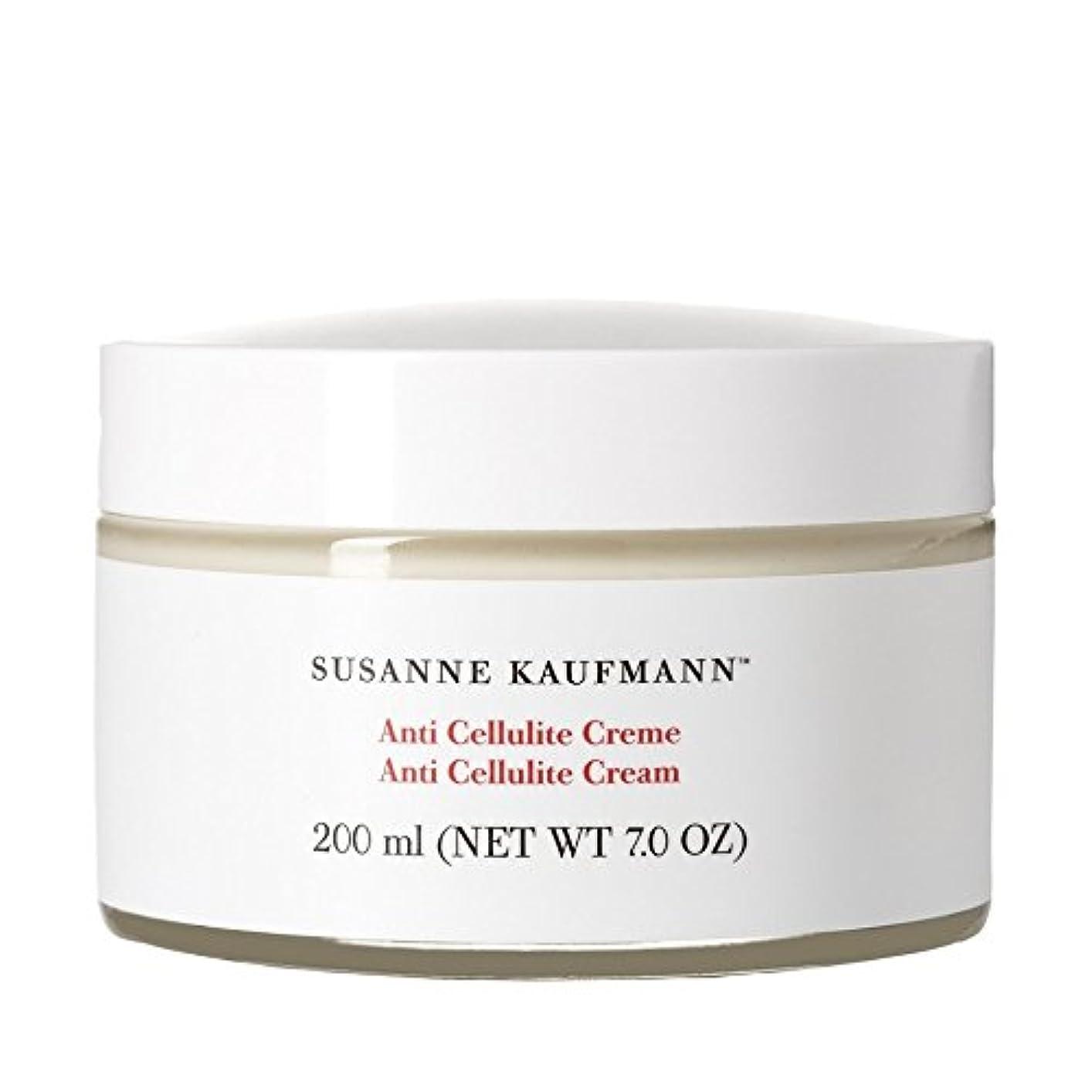 パステル三角形甲虫Susanne Kaufmann Anti Cellulite Cream 200ml (Pack of 6) - スザンヌカウフマン抗セルライトクリーム200ミリリットル x6 [並行輸入品]