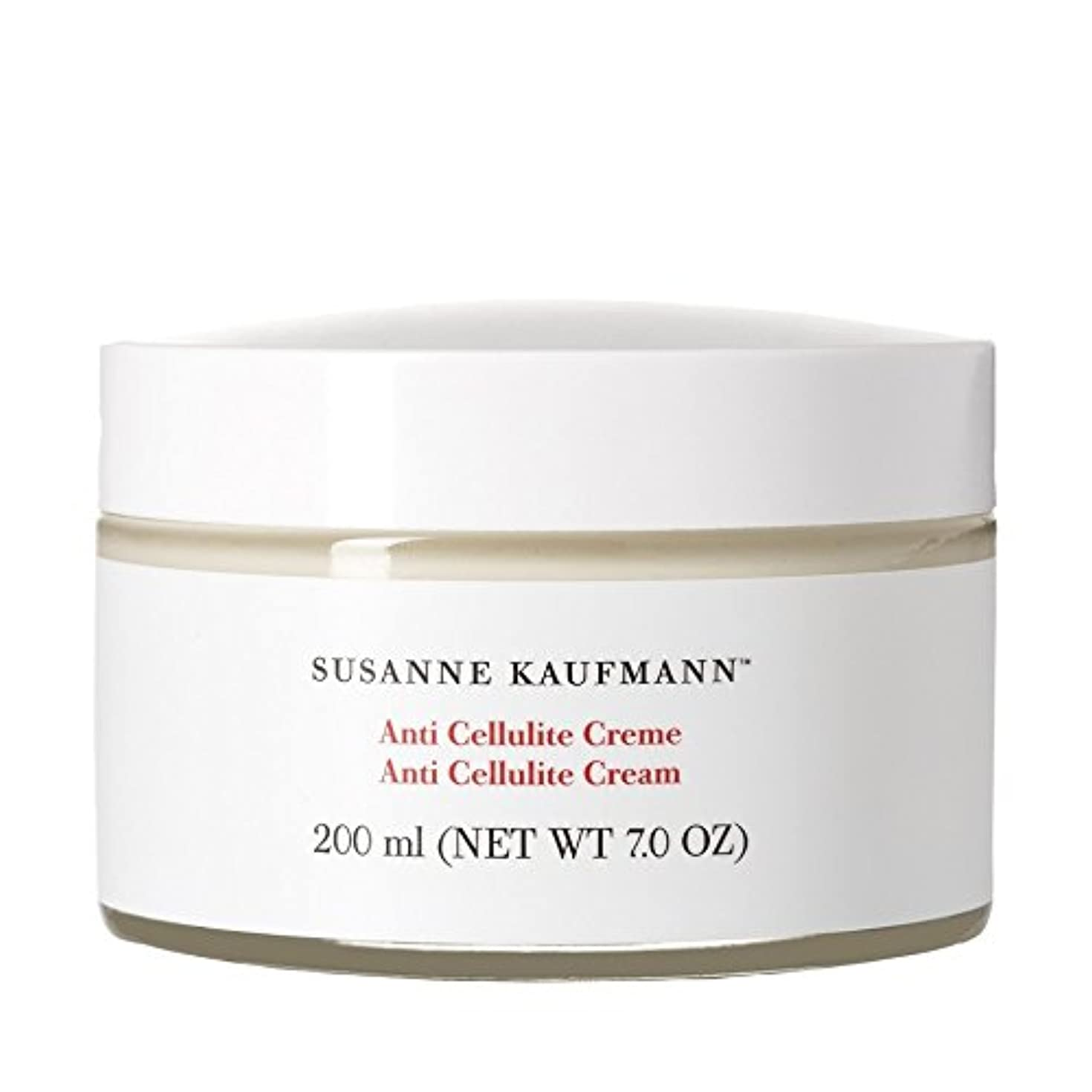 環境命令的落花生スザンヌカウフマン抗セルライトクリーム200ミリリットル x4 - Susanne Kaufmann Anti Cellulite Cream 200ml (Pack of 4) [並行輸入品]