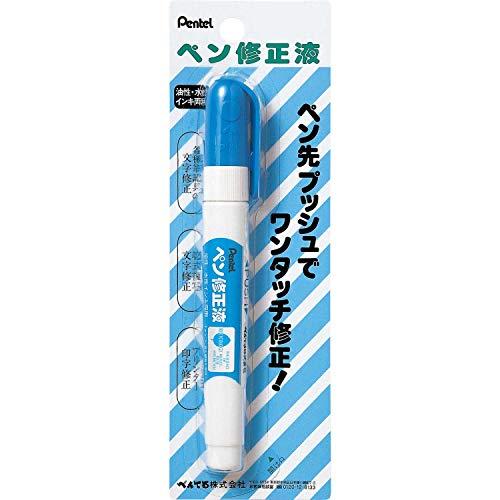 ぺんてる 修正ペン ペン修正液 XEZL21-W