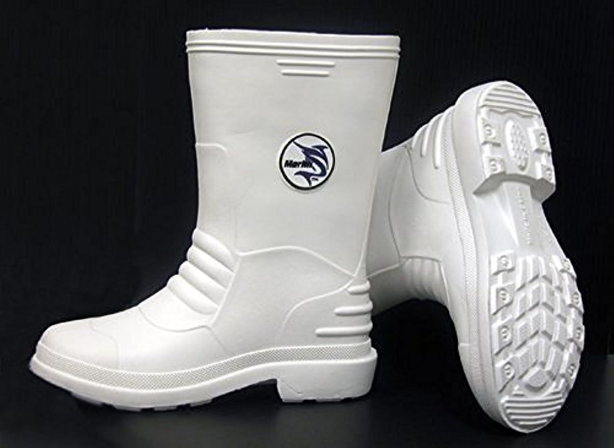 つかいますトロリーバスボタンMarlin White Boots Size: 8