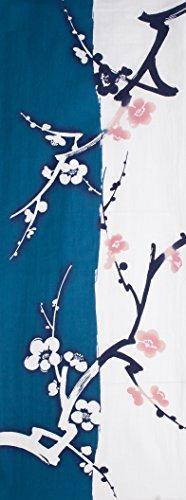 和布華 手拭い 手ぬぐい 和柄 日本製 (梅(青))