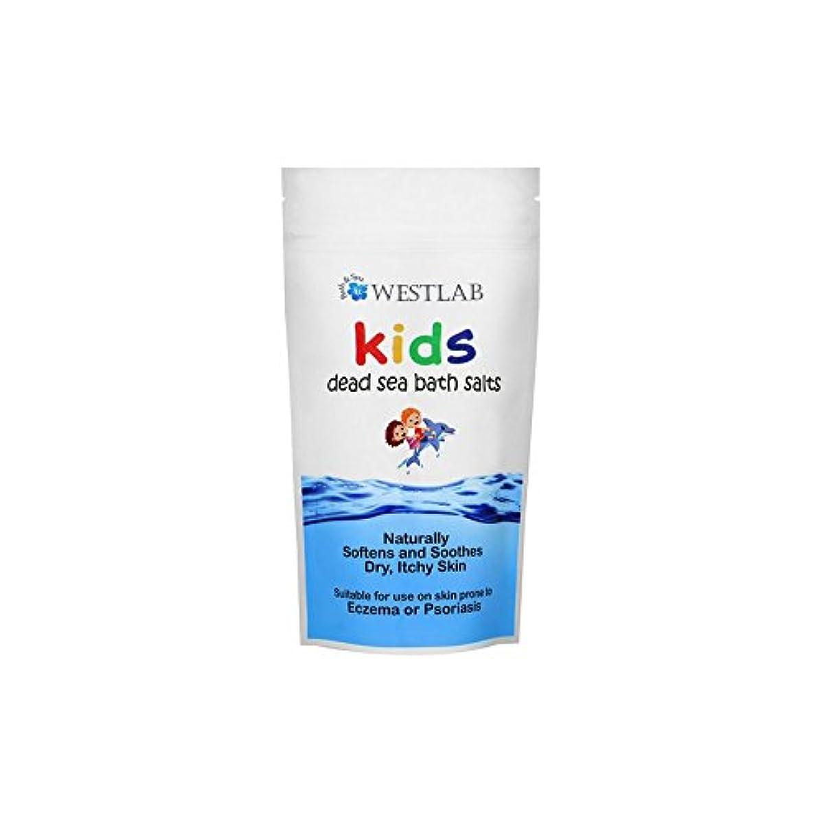 コンピューター致命的な記録子供死海の塩 x2 - Westlab Kids Dead Sea Salt (Pack of 2) [並行輸入品]