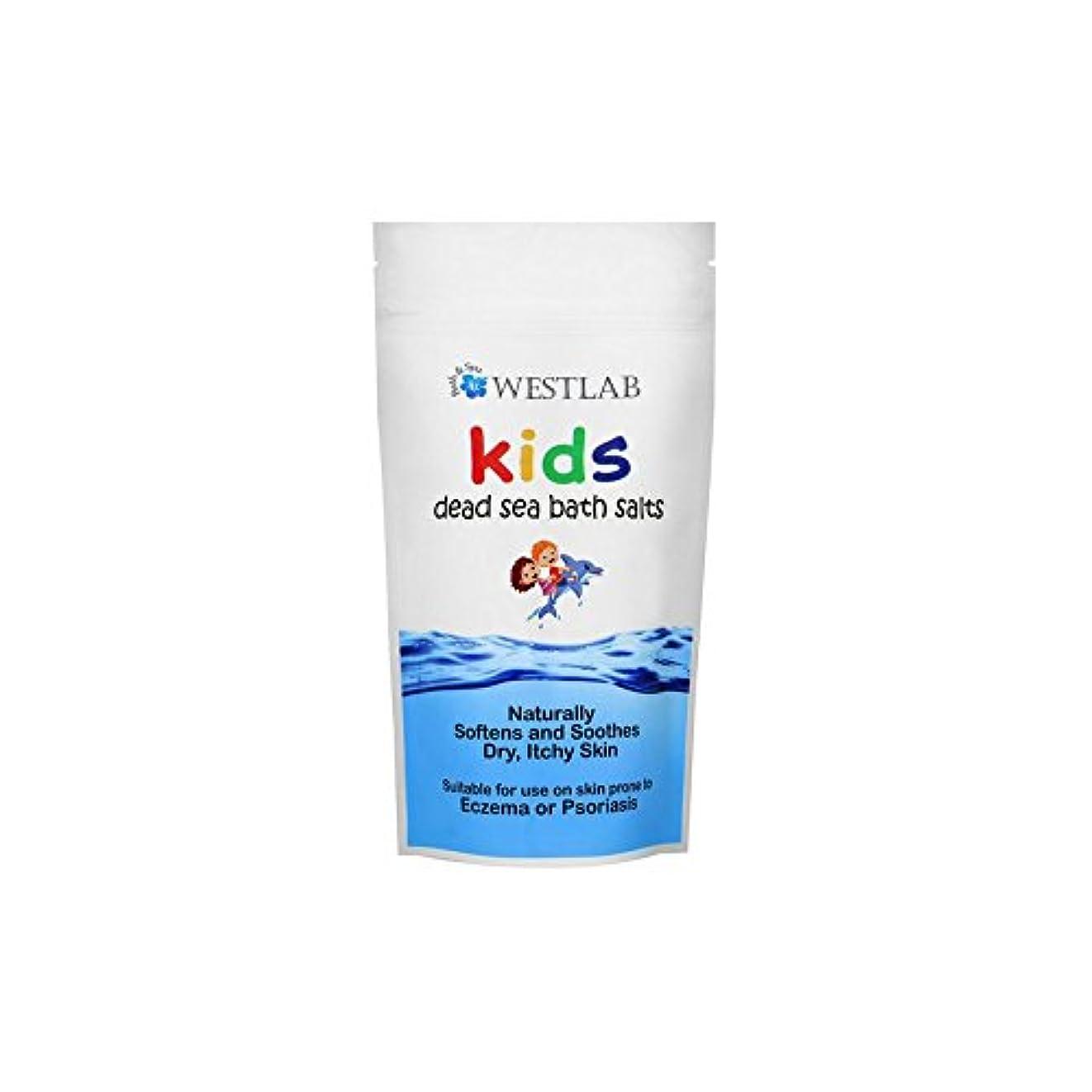 引っ張るホーン砂子供死海の塩 x2 - Westlab Kids Dead Sea Salt (Pack of 2) [並行輸入品]