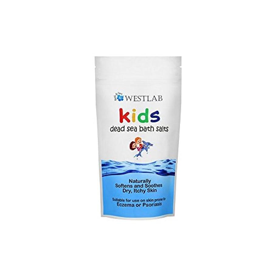 先例陪審子供死海の塩 x4 - Westlab Kids Dead Sea Salt (Pack of 4) [並行輸入品]