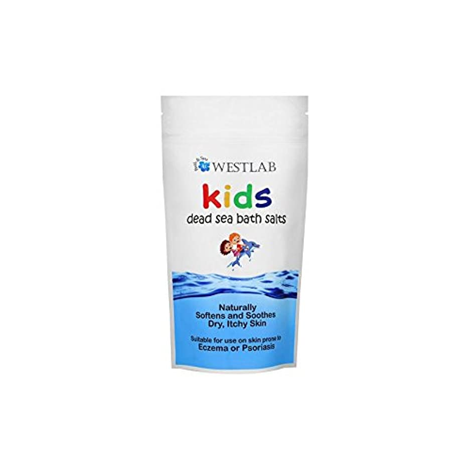 皮肉完了走るWestlab Kids Dead Sea Salt (Pack of 6) - 子供死海の塩 x6 [並行輸入品]