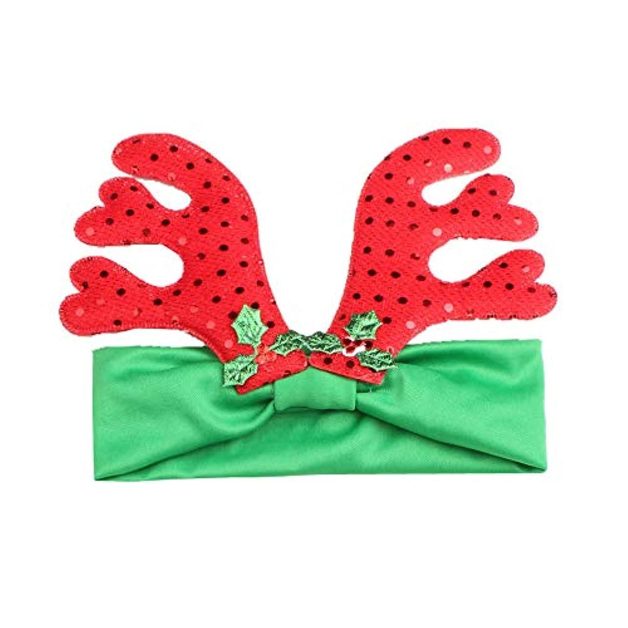 将来の不毛シガレットベビー ヘアバンド Zoiearl 人気 キッズ カチューシャ 女の子 髪飾りクリスマス 鹿 アントラー 子供 ヘアバンド 幼児 可愛い新生児 ヘアバンド ベビー 髪飾り グリーン 赤 ヘアアクセサリー 0~4歳 コスチューム クリスマス お祝い プレゼント