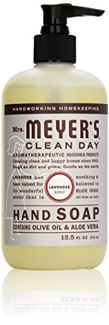 唯一変色する覚えているMrs. Meyer's Clean Day Liquid Hand Soap, Lavender, 12.5 Ounce Bottle by Mrs. Meyer's Clean Day [並行輸入品]