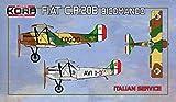 コラモデルス 1/72 イタリア空軍 フィアット CR.20B 複座練習連絡機 プラモデル KORPK72117