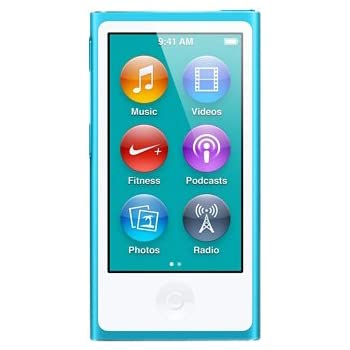 Apple iPod nano 16GB ブルー MD477J/A <第7世代>
