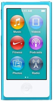 Apple iPod nano 16GB ブルー MD477J/A <第7世代>