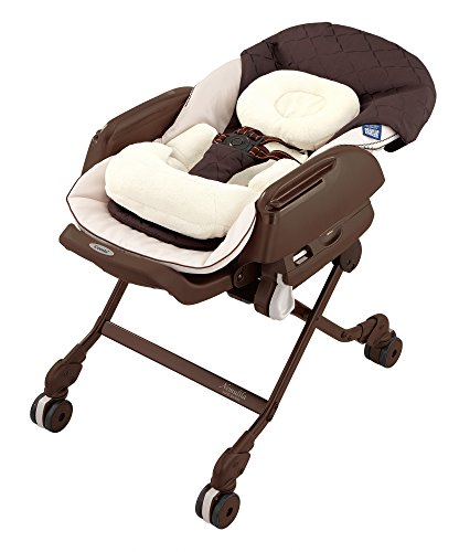 コンビ ベビーラック ネムリラ AUTO SWING BEDi Plus ショコラブラウン 新生児~4才頃対象 エアファイバー搭載モデル