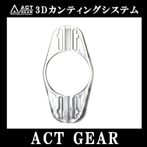 ACT GEAR 3Dカンティングシステム アルペン スノーボード バインディング スタンス:GOOFY M/L