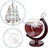 Whiskey Decanter Globe - for Liquor, Scotch, Bourbon, Vodka or Wine - 1000ml