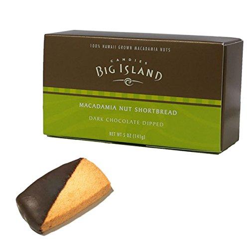 (ビッグアイランドキャンディーズ) マカダミアナッツショートブレッド ダークチョコレートディップ 141g
