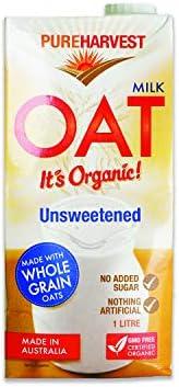 Pure Harvest Organic Oat Milk Non-dairy Milk, Original