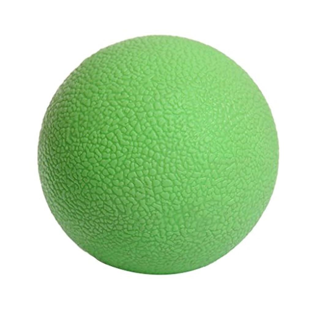 話をするスープ記念品マッサージボール ジムフィットネス 筋肉マッサージ ボール トリガーポイント 4色選べる - 緑, 説明したように