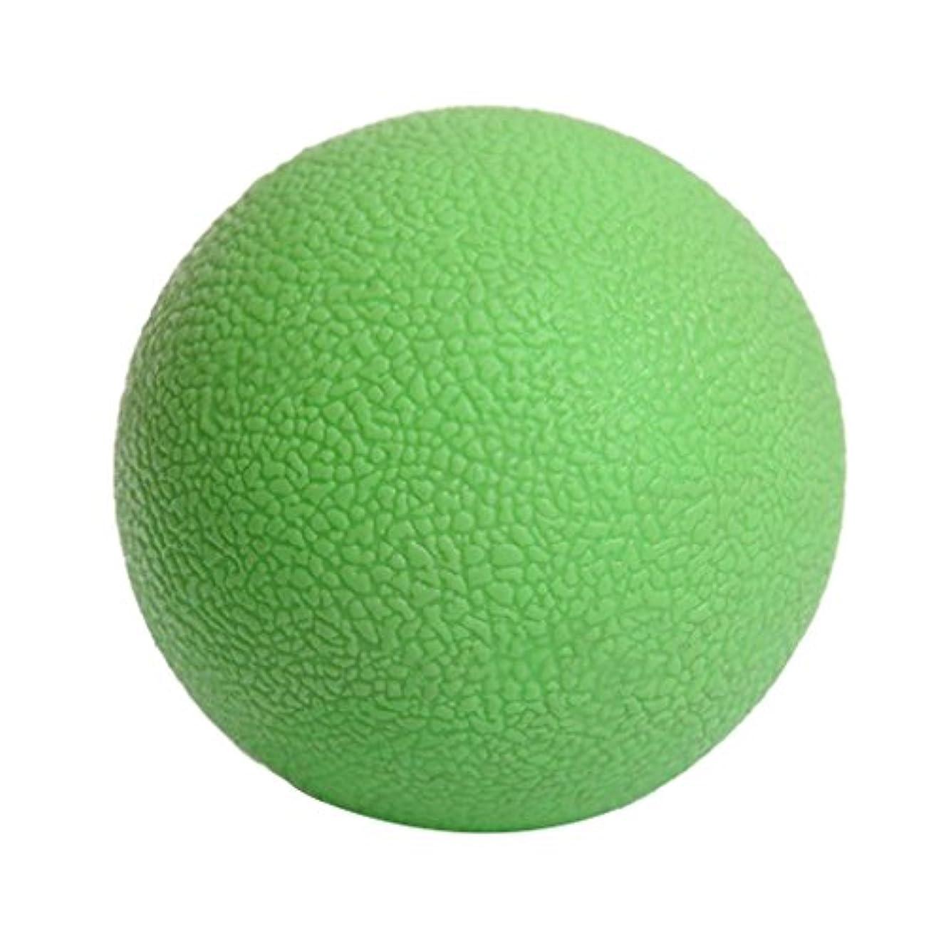 後継グリーンランドミリメーターKesoto マッサージボール ジムフィットネス 筋肉マッサージ ボール トリガーポイント 4色選べる - 緑