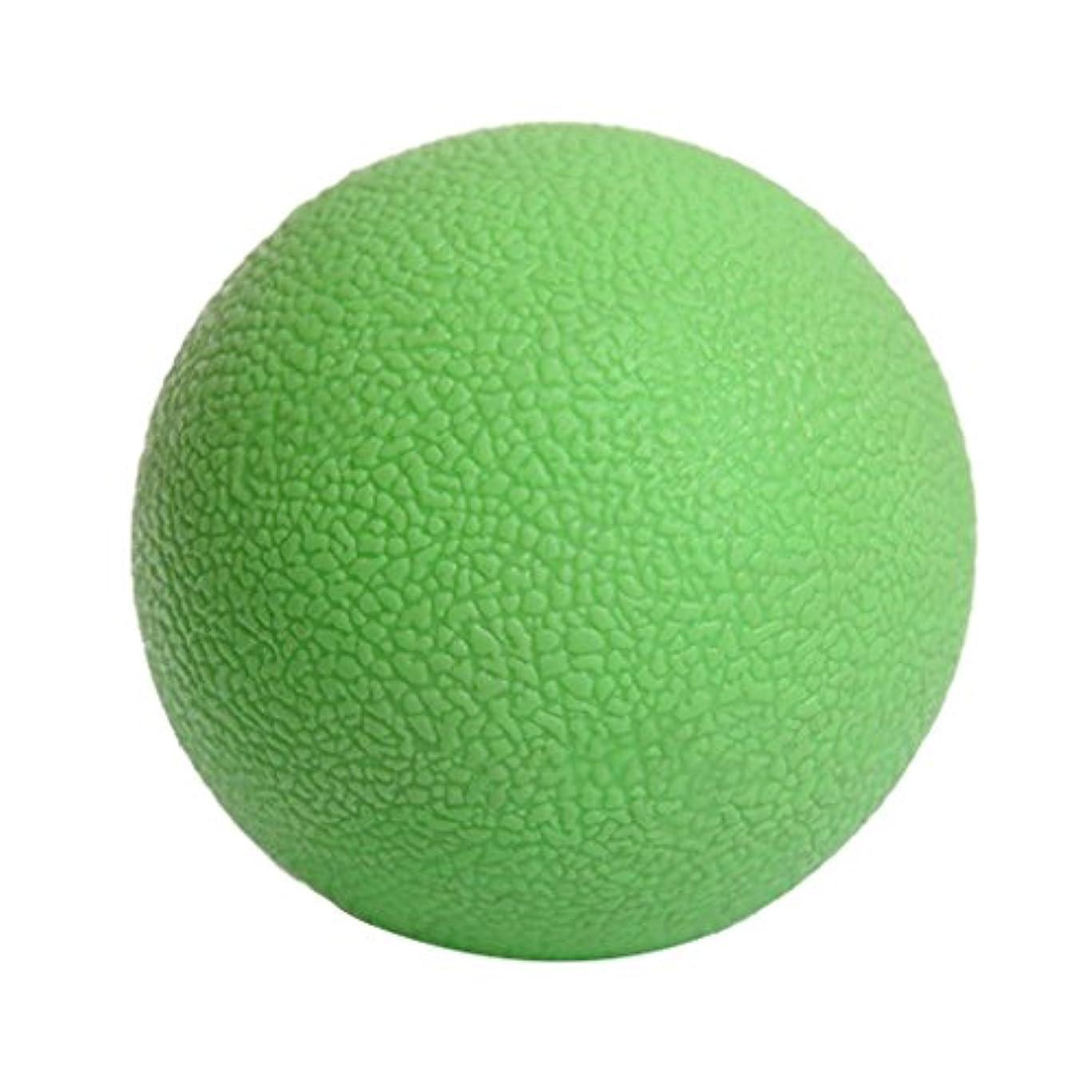 おいしい雑草興味Kesoto マッサージボール ジムフィットネス 筋肉マッサージ ボール トリガーポイント 4色選べる - 緑