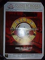 ポスターH24 Guns N' RosesガンズアンドローゼズChinese Democracy 筒代不要