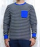 ロングスリーブ Tシャツ ステッチ ボーダー ポケット セブンデイズサンデイ画像①