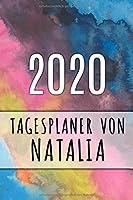 2020 Tagesplaner von Natalia: Personalisierter Kalender fuer 2020 mit deinem Vornamen