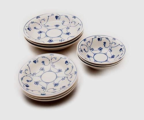 ロイヤル サラダボール・カレー皿・プレートの食器9点セット