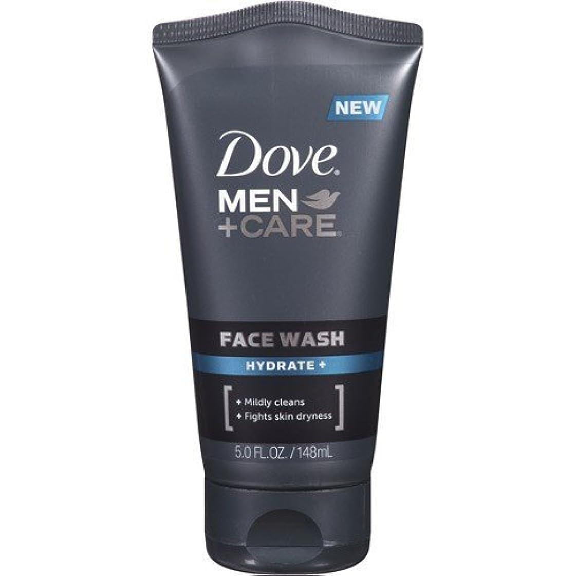 エスカレーター百万良いDove Men + Care Face Wash, Hydrate, 5 Oz by Dove